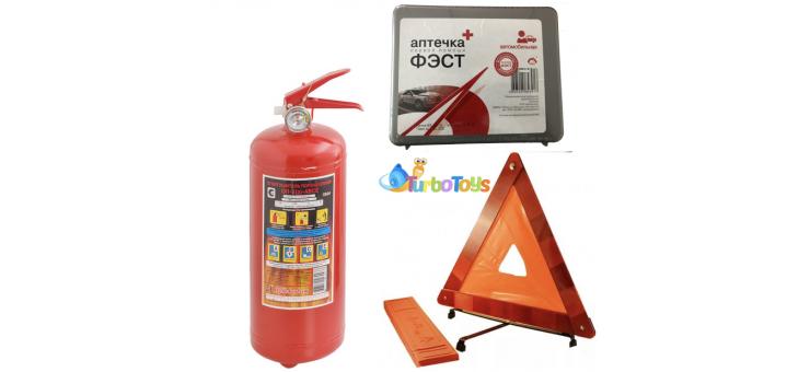 Набор для ТО (Аптечка + Знак + Огнетушитель)