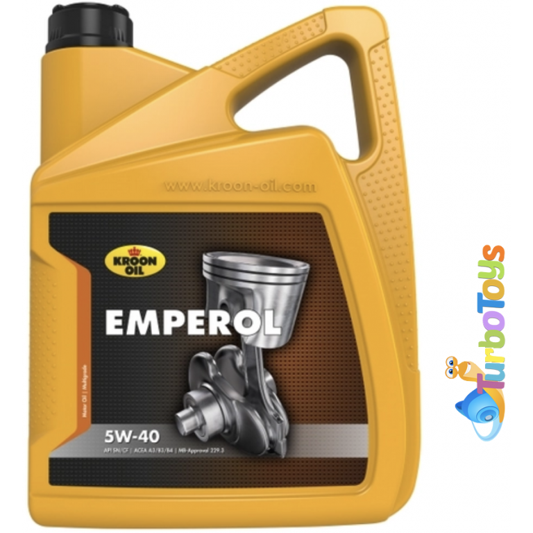 Масло моторное 5W40 Kroon-Oil Emperol 5L trb0087