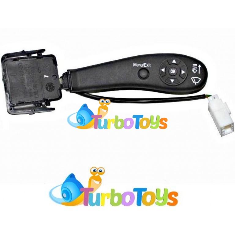Переключатель стеклочистителя подрулевой с круиз-контролем (овальный) LADA Priora tb10871